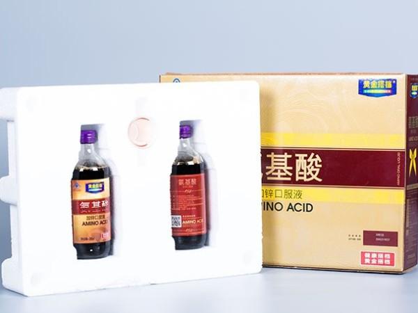 黄金牌氨基酸加锌口服液