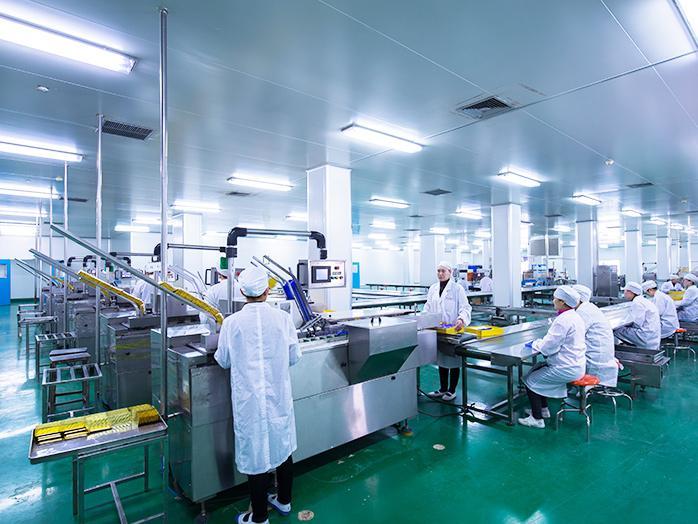 健特药业生产能力越来越强大,我们合作很愉快